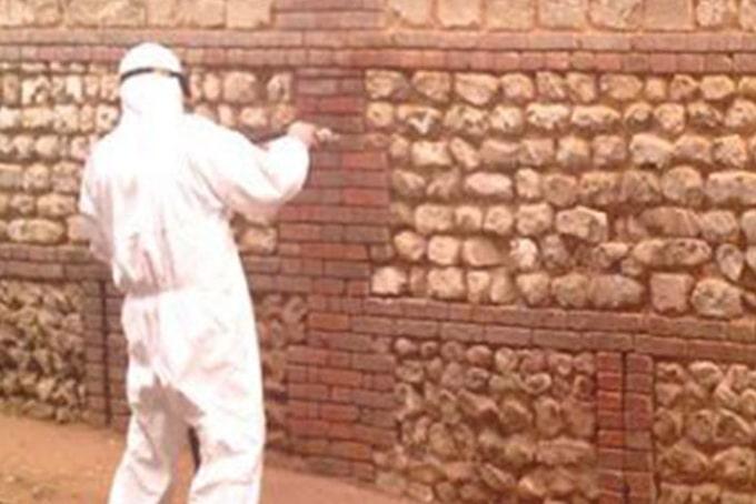 Nettoyer façade aérogommage