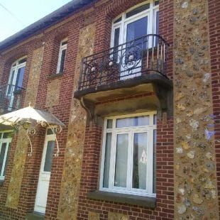 Rénovation façade Mesnil Esnard